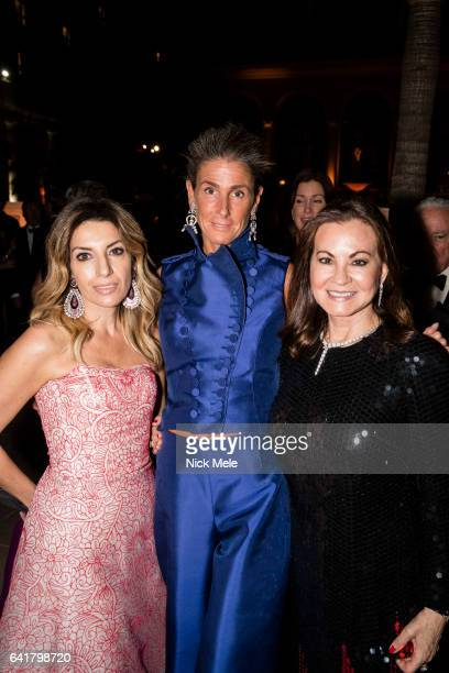 Somers Farkas Giulia Azmoudeh and Judith Giuliani attend Boys and Girls Clubs of Palm Beach County Celebrate the 36th Annual Winter Ball at The...