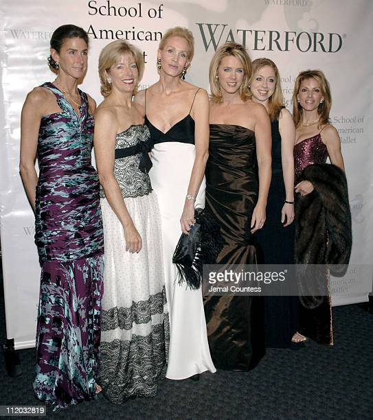 Somers White Farkas Liz Peek Joanne de Guardiola Deborah Norville Chelsea Clinton and Cindy Sites All the ladies are Chairpersons for the American...