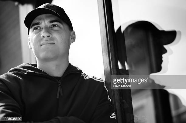 Somerset and England cricketer Tom Banton photographed at the family home on May 15, 2020 in Barnt Green, England.