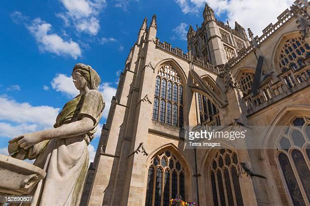 UK, Somerset, Bath, Bath Abbey