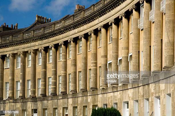 UK, Somerset, Bath, World Heritage City, The Royal Crescent