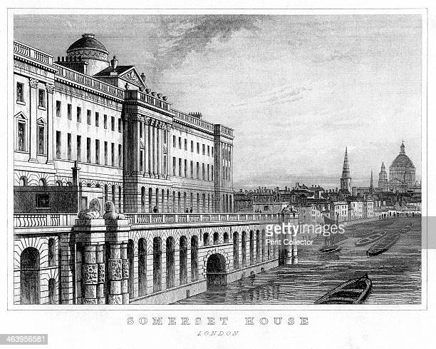 Somerset House Westminster London Designed by Sir William Chambers in the late 18th century Somerset House originally housed public offices including...