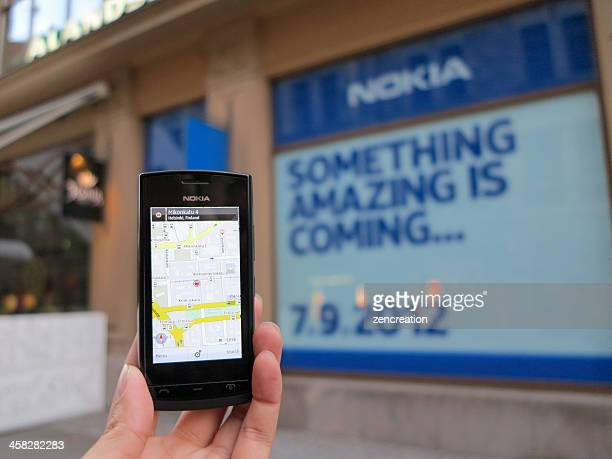 """something amazing is coming…"" by nokia - store opening stock pictures, royalty-free photos & images"