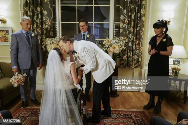 """Something Blue"""" -- The stress of McGee and Delilah's imminent wedding takes its toll, as Delilah is rushed to the hospital. Also, the NCIS team..."""