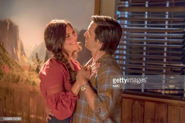 """Sometimes"""" Episode 307 -- Pictured: Mandy Moore as Rebecca Pearson, Milo Ventimiglia as Jack Pearson --"""