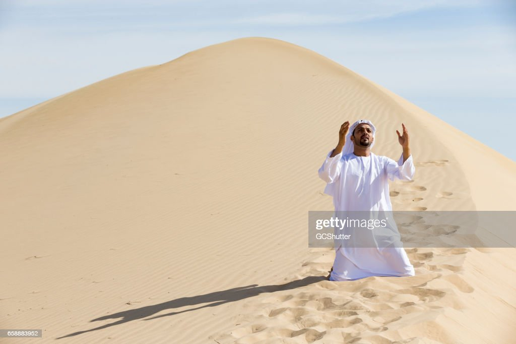 Sometimes it takes only a prayer to change everything : Stock Photo