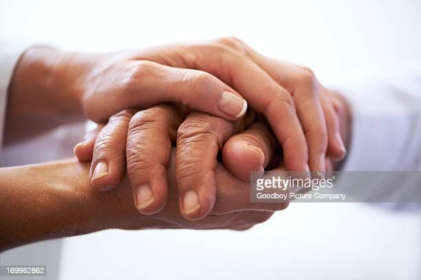 Manchmal brauchst du eine hand zu halten