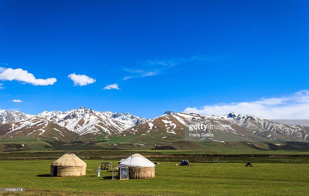 Landscape  in Kyrgyzstan : News Photo