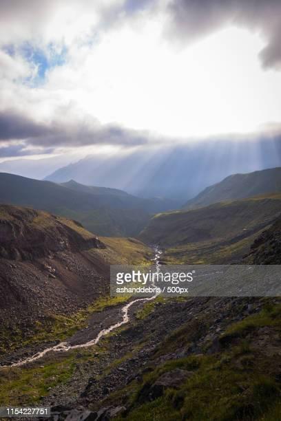 somewhere in mountains - コーカサス山脈 ストックフォトと画像