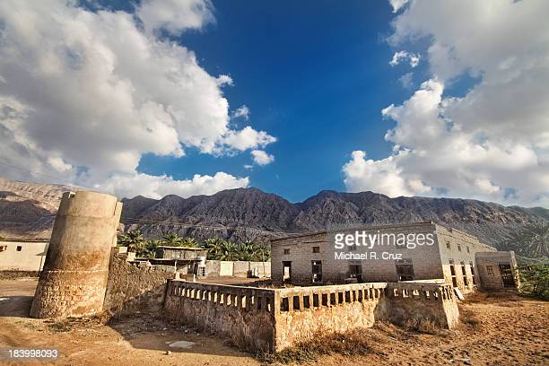 somewhere in the mountains - ras al khaimah stock pictures, royalty-free photos & images