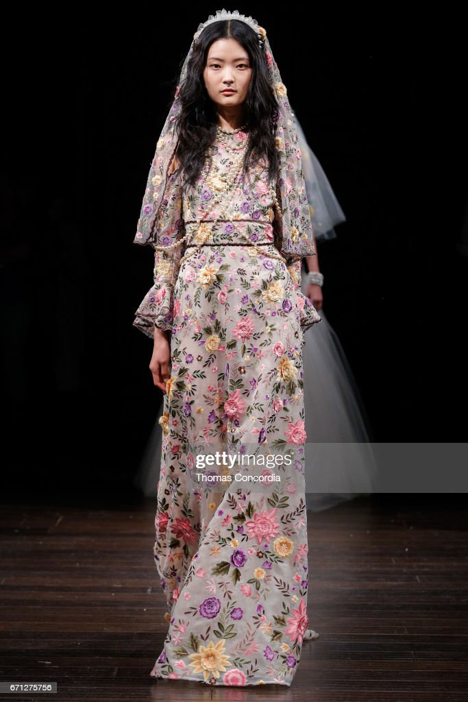5ed5866c035b8 Naeem Khan - Runway - New York Fashion Week  Bridal April 2017   News Photo