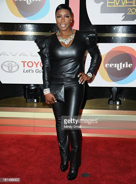 Sommore arrives at the Soul Train Awards 2013 at the Orleans Hotel Casino on November 8 2013 in Las Vegas Nevada
