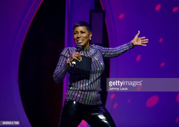 Sommore performs onstage at the Miami Festival Of Laughs at James L Knight Center on January 13 2017 in Miami Florida