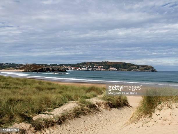 somo beach - margarita beach stock photos and pictures