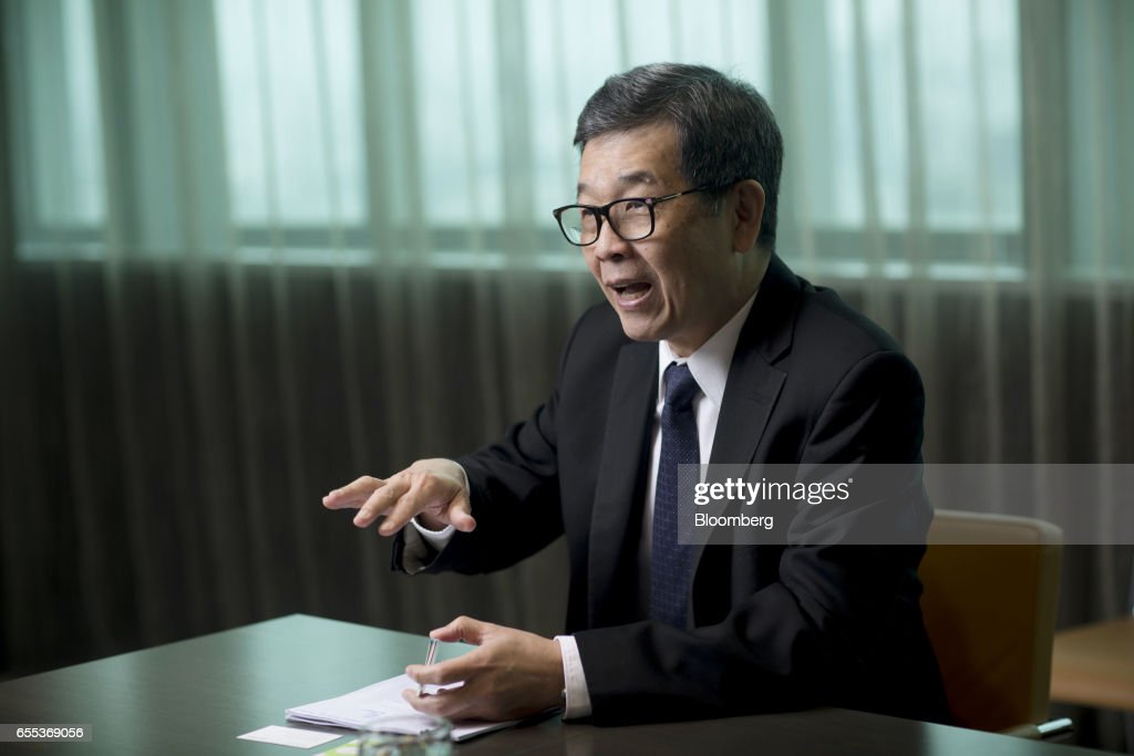 Somporn Vongvuthipornchai, chief executive officer of PTT Exploration & Production PCL (PTT E&P), speaks during an interview in Bangkok, Thailand, on Thursday, March 16, 2017. PTT E&P is eyeing early-life producing assets or projects that are already sanctioned and ready for development, Somporn said. Photographer: Brent Lewin/Bloomberg via Getty Images