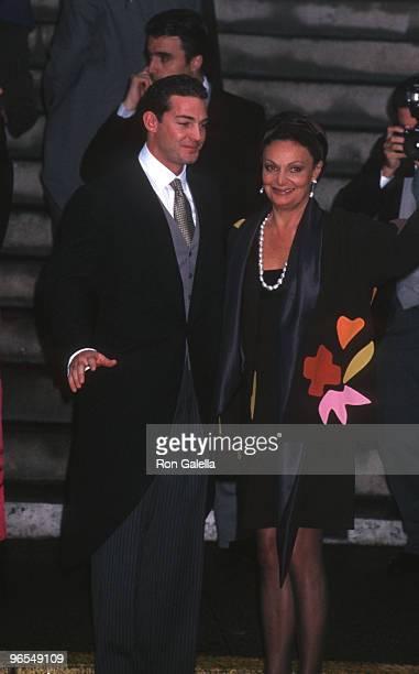 Son Alexander von Furstenberg and Diane von Furstenberg