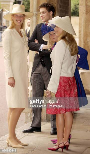 Son and daughter of Prince and Princess Michael of Kent Lord Frederick and Lady Gabriella Windsor and the Duke and Duchess of Gloucester's daughters...