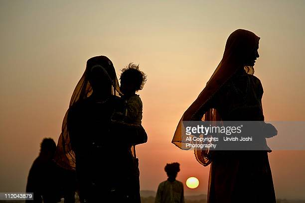 son and sun - rajasthan stock pictures, royalty-free photos & images