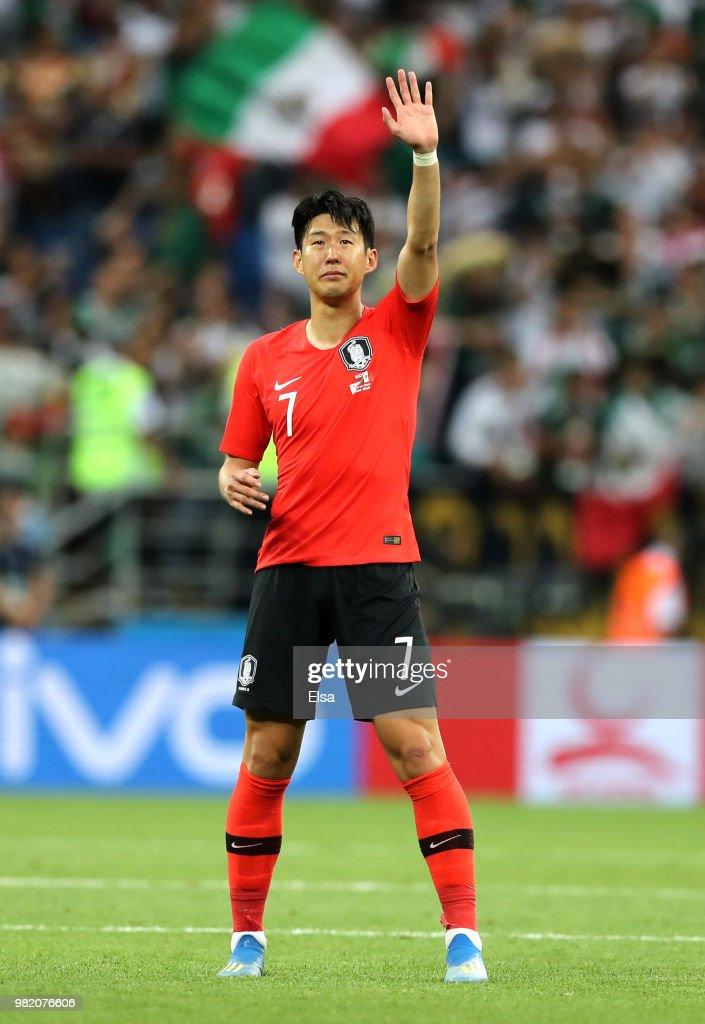 Korea Republic v Mexico: Group F - 2018 FIFA World Cup Russia : Fotografía de noticias