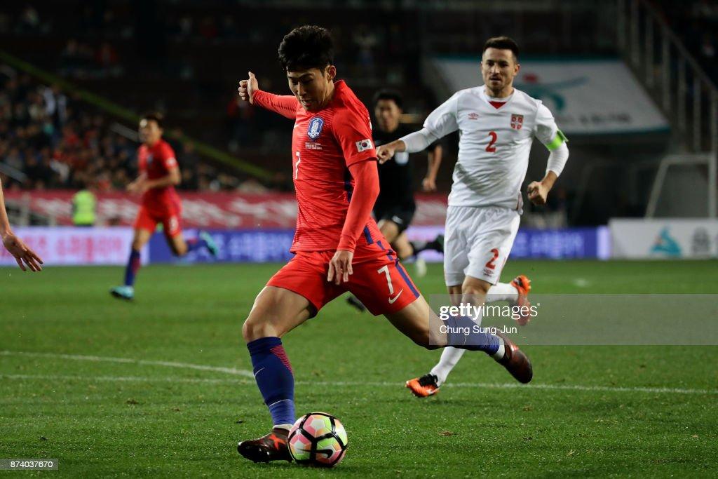 South Korea v Serbia - International Friendly : News Photo