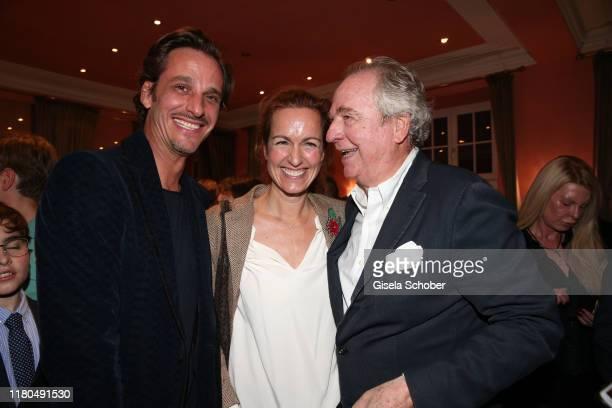 Son Max von Thun daughter Gioia von Thun and Friedrich von Thun during the premiere of the theater play Sonny Boys at Komoedie im Bayerischen Hof on...