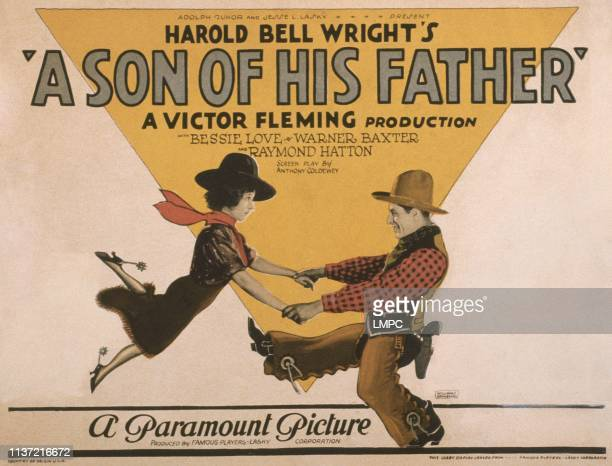 A Son Of His Father poster US poster from left Bessie Love Warner Baxter 1925