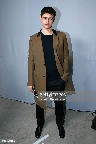 Son of Jeremy Irons attends the Lanvin Menswear Spring/Summer 2017 show as part of Paris Fashion Week on June 26 2016 in Paris France