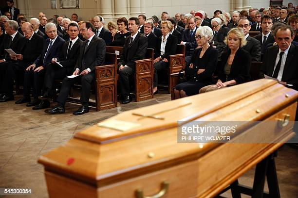Son of Michel Rocard Francis Rocard daughter of Sylvie Rocard AnneCatherine Pelissier widow of Michel Rocard Sylvie Rocard French President Francois...