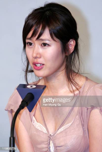 Son YeJin during 'April Snow' Seoul Press Conference at Coex Intercontinental Hotel Harmony Volume in Seoul South South Korea