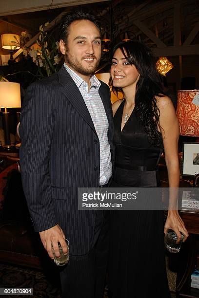 Sona Quinn and Alex Quinn attend Hollywood's Interior Designer Barclay Butera and Elle Decor Host GO GLAMOUR Event at Barclay Butera on September 14...