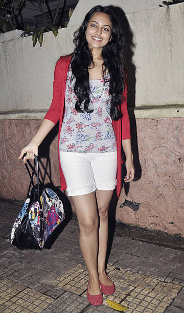 Sonakshi Sinha at the screening of the film Tere Bin Laden in Mumbai on July 15 2010