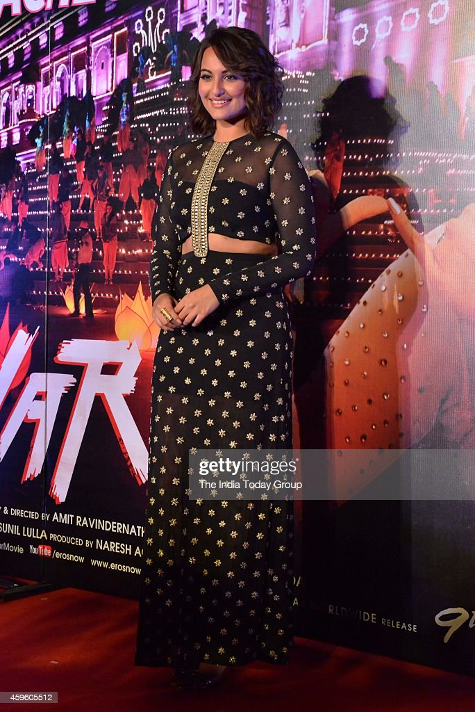 Sonakshi Sinha at the song launch Radha from the upcoming movie Tevar in Mumbai