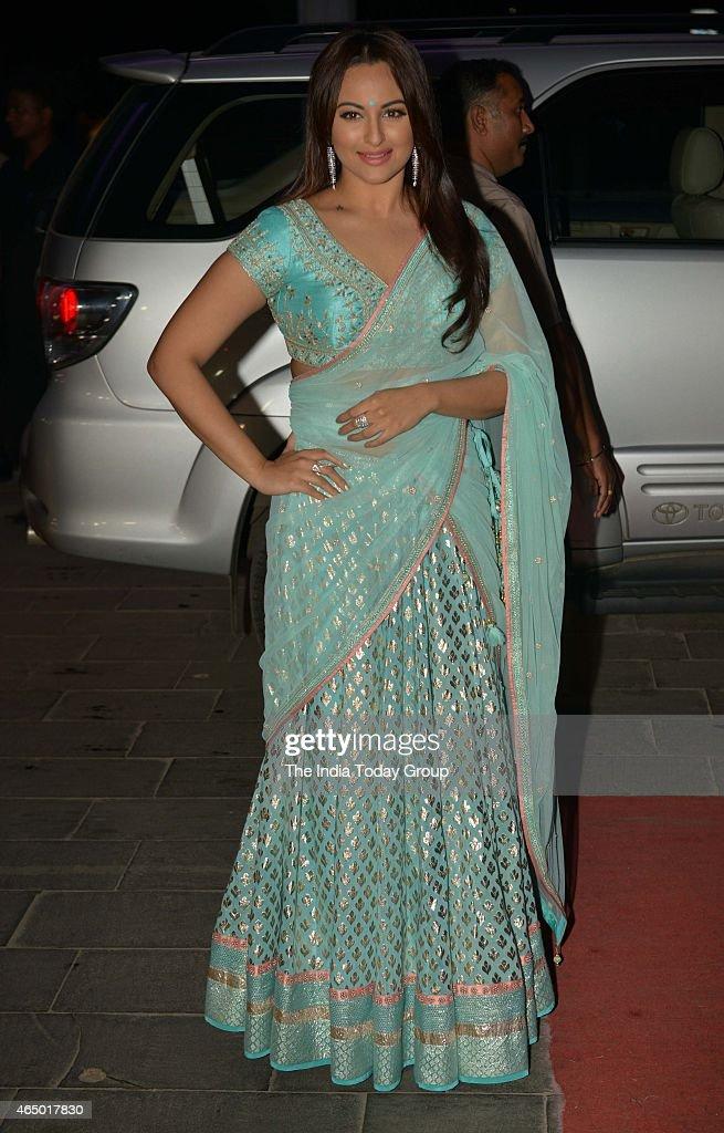Sonakshi Sinha at Wedding reception of Tulsi Kumar in Mumbai