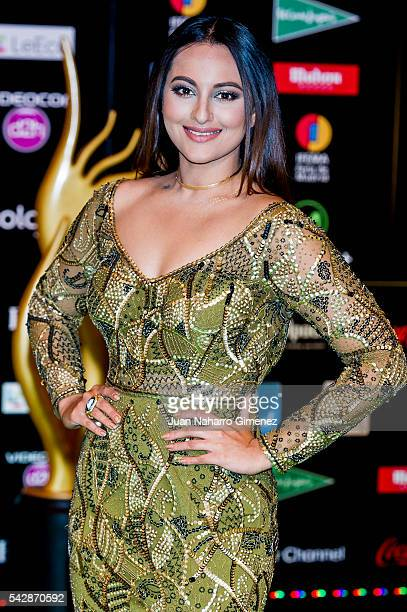 Sonakshi Sinha attends IIFA Awards 2016 Rocks Green Carpet at Ifema on June 24 2016 in Madrid Spain