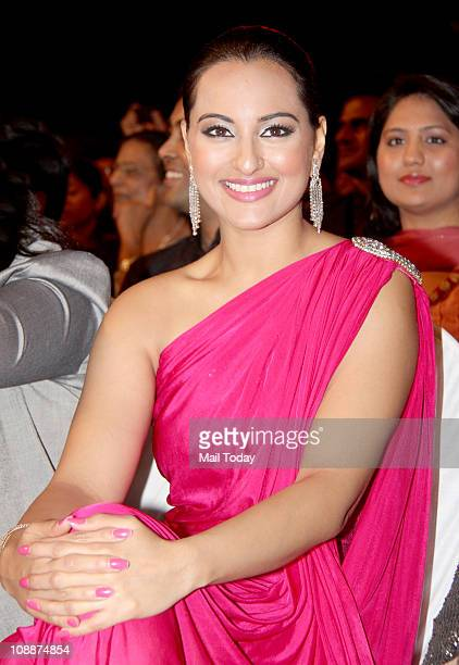 Sonakshi Sinha during the Stardust Awards function in Mumbai on Sunday evening
