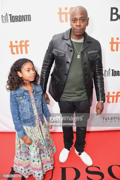 Sonal Chappelle and Dave Chappelle attends the A Star Is Born premiere during 2018 Toronto International Film Festival at Roy Thomson Hall on...