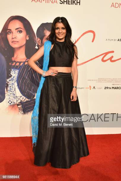 Sonali Shah attends the UK Premiere of 'Cake' at the Vue West End on March 13 2018 in London England