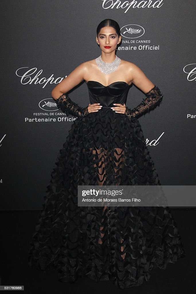 Chopard Party - Red Carpet Arrivals - The 69th Annual Cannes Film Festival : News Photo