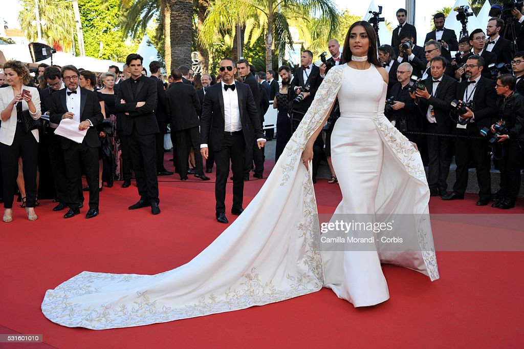 """""""Froma The Land And The Moon (Mal de Pierres) """" Red carpet - The 69th Annual Cannes Film Festival : News Photo"""