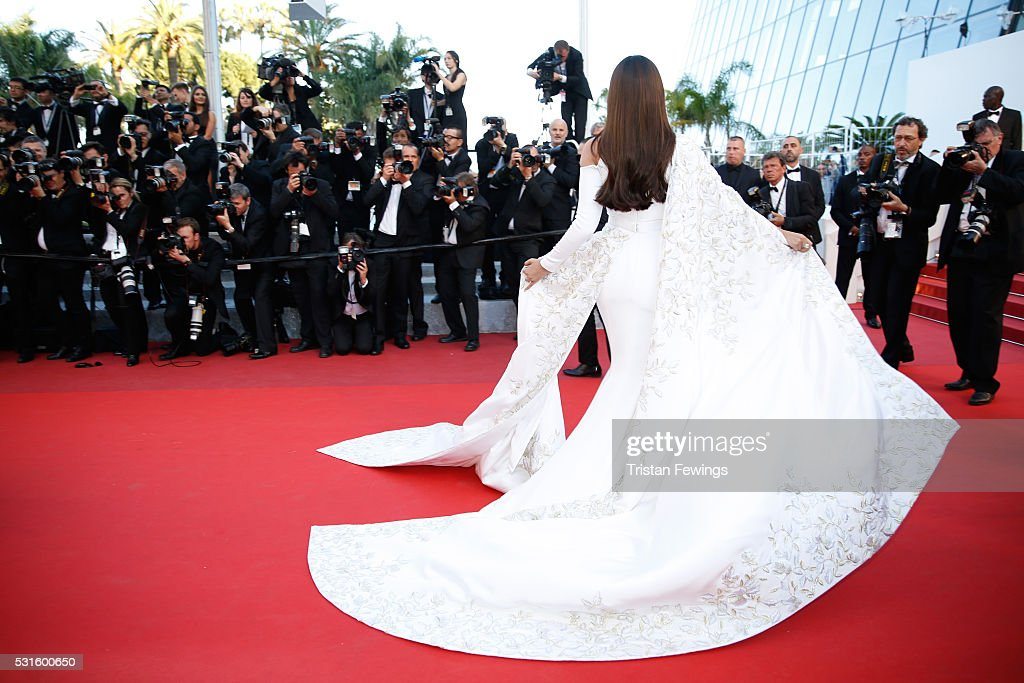 """""""From The Land And The Moon (Mal De Pierres)"""" - Red Carpet Arrivals - The 69th Annual Cannes Film Festival : News Photo"""