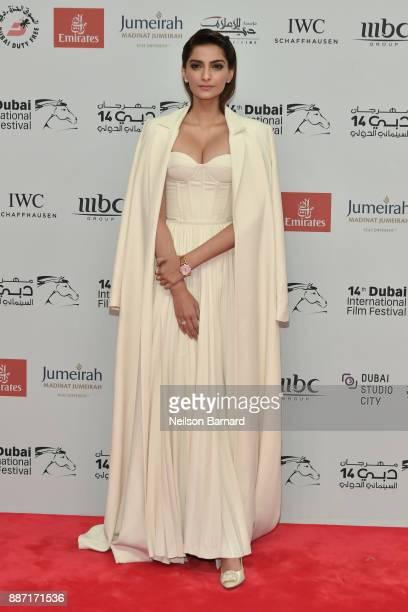 Sonam Kapoor attends the Opening Night Gala of the 14th annual Dubai International Film Festival held at the Madinat Jumeriah Complex on December 6...