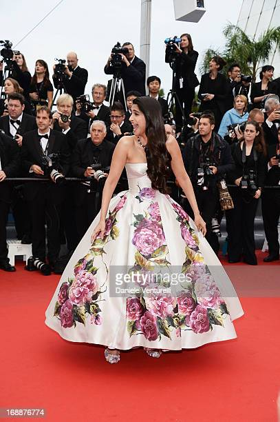 Sonam Kapoor attends the Premiere of 'Jeune & Jolie' at The 66th Annual Cannes Film Festival at Palais des Festivals on May 16, 2013 in Cannes,...