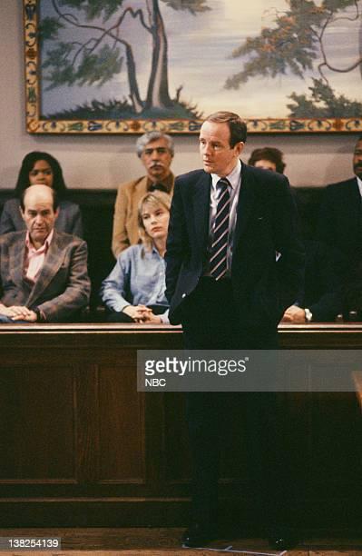 "Sonata for Solo Organ"" Episode 21 -- Air Date -- Pictured: Michael Moriarty as Executive A.D.A. Ben Stone"