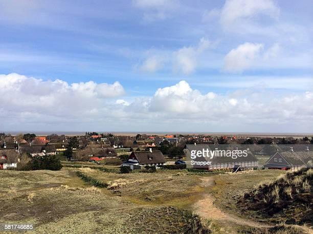 Sonderho village, Fanoe, Denmark