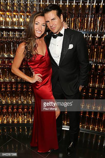 Sondra Hoffman and actor Vincent De Paul at the grand reopening party of the iconic Watergate Hotel on June 14 2016 in Washington DC