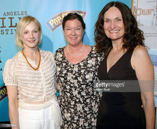 Sondra Locke Mary Badham and Beth Grant during 2005 Los Angeles Film Festival Our Very Own Screening at Directors Guild of America in Los Angeles...