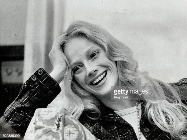 Sondra Locke who stars in movie A Reflection of Fear during a recent Toronto visit