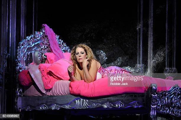 Sondra Radvanovsky as Manon Lescaut in the Royal Opera's production of Giacomo Puccini's Manon Lescaut directed by Jonathan Kent and conducted by...