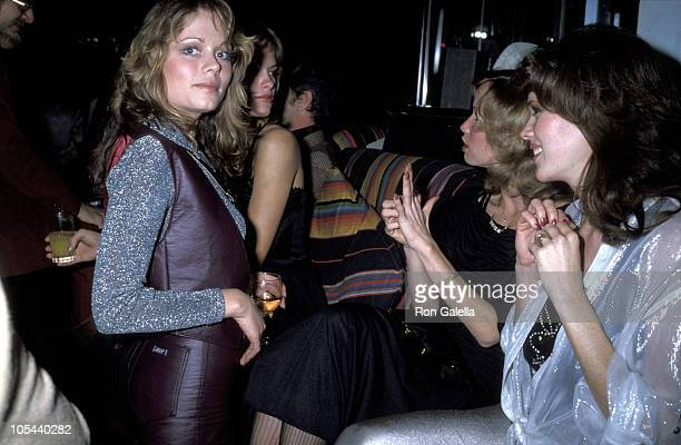 Sondra Theodore Patti Maguire and Guests during Playboy Magazine's 25th Anniversary Party at Tavern on the Green in New York City New York United...