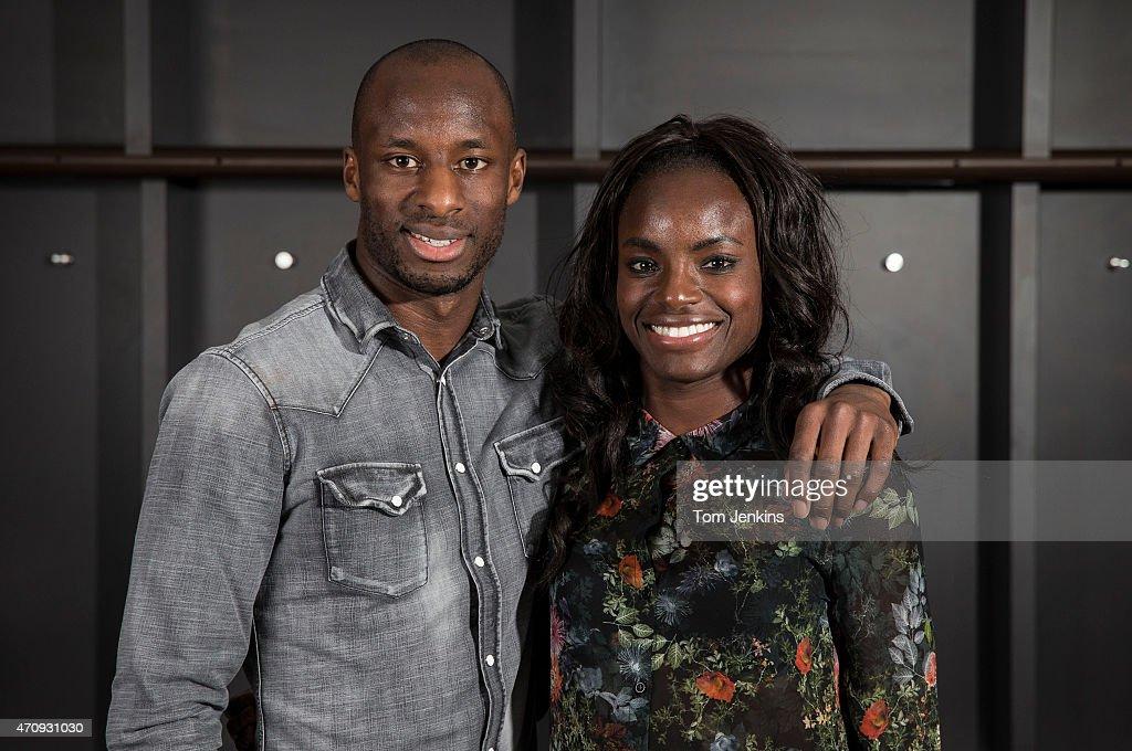 Sone and Eniola Aluko Portrait Session